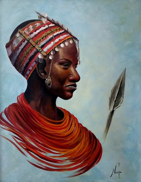 Massai Warrior Art | Art Design & Inspiration Gallery