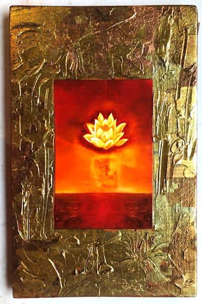 "Fire Bloom 11x17"" | Big Vision Art + Design"