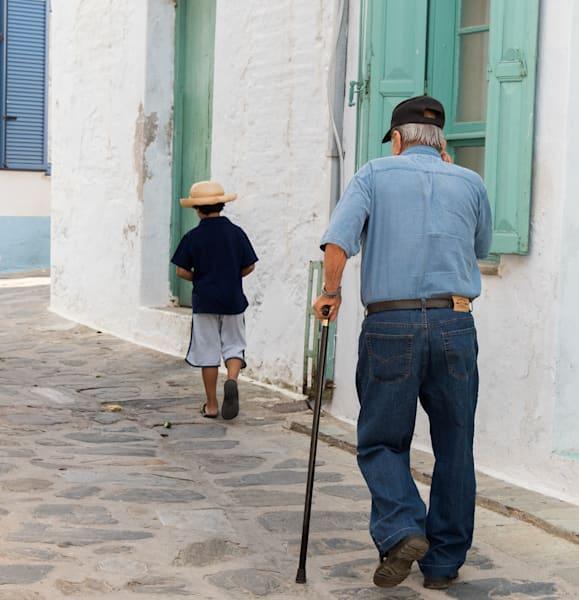 Generations, Skopelos, Greece