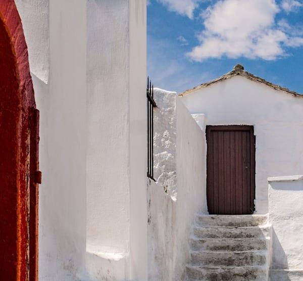 Beyond The Red Door, Skopelos, Greece/for sale by Ben Asen photography