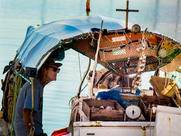 Fisherman, Skopelos, Greece/sold by Ben Asen Photography