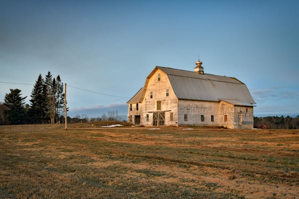 Morning Light on the Old Barn | Shop Photography by Rick Berk