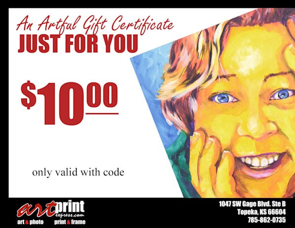 Gift Card $10 | Art Print Express