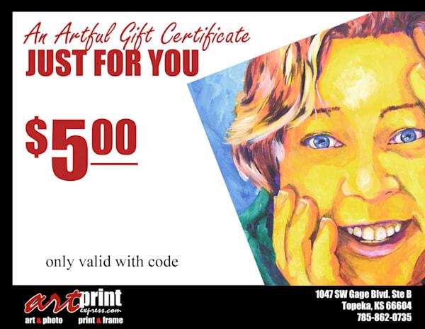 $5 Gift Card | Art Print Express