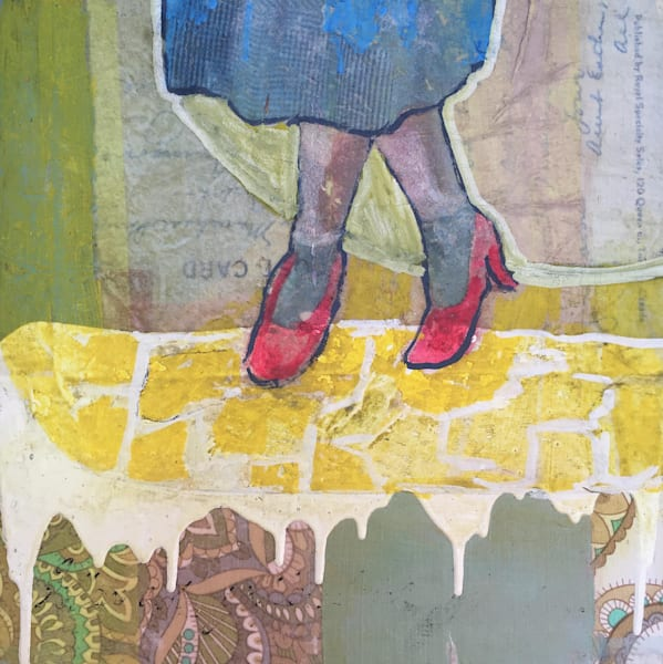Follow Your Yellow Brick Road- SOLD
