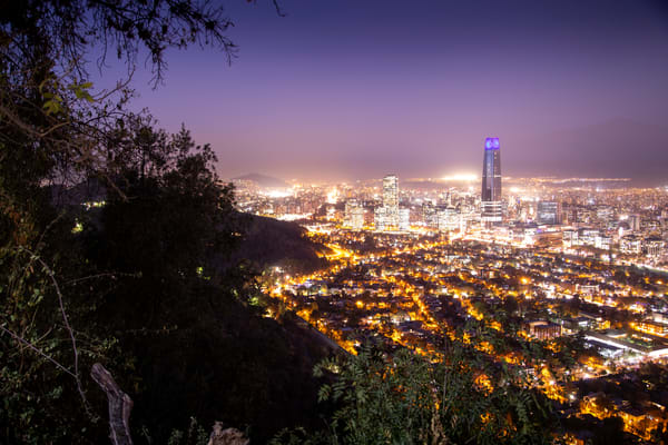 Santiago Nights Art | Earth Trotter Photography