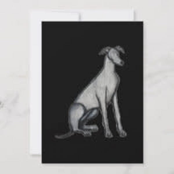 Greyhound Pop Art by Marie Stephens Art