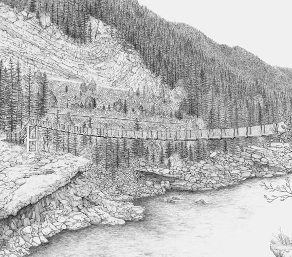 Ben Palmer - The Old Swinging Bridge
