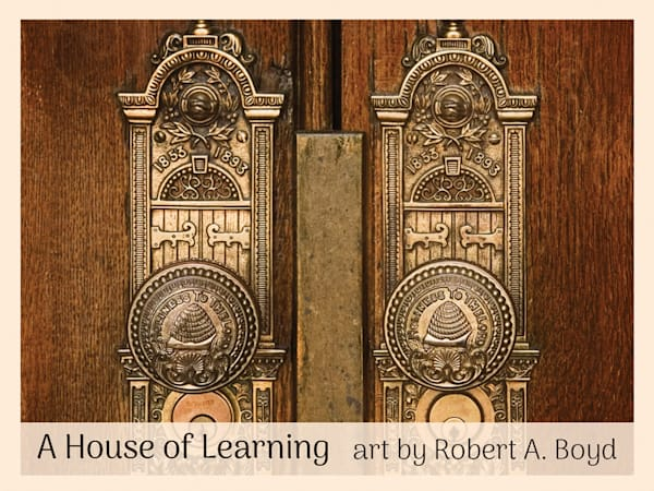 Robert A. Boyd - House of Learning (Temple Symbols) minicard pack