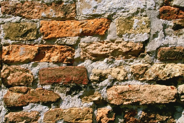 Old Brick Wall Detail Italy Photography Art | ePictureGallery