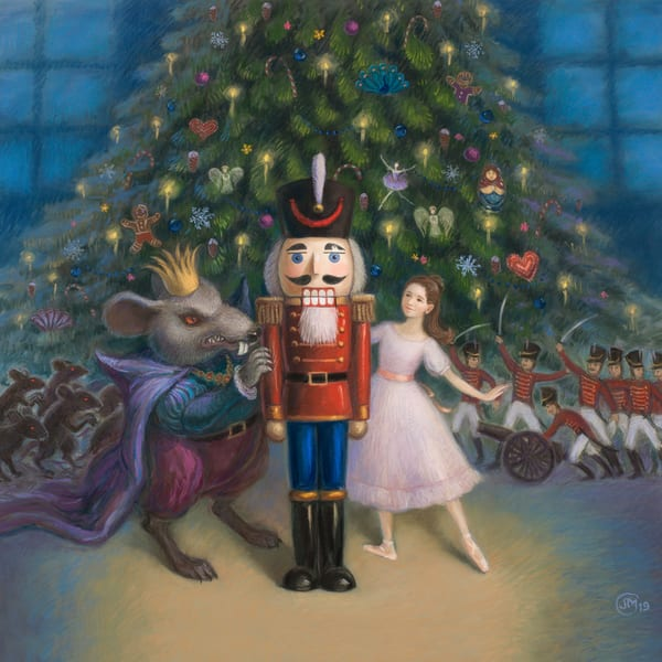 The Nutcracker Ballet Art Print