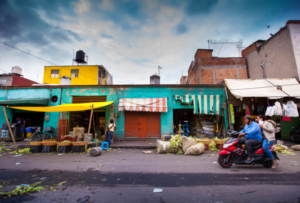 Day At The Market Art | Earth Trotter Photography