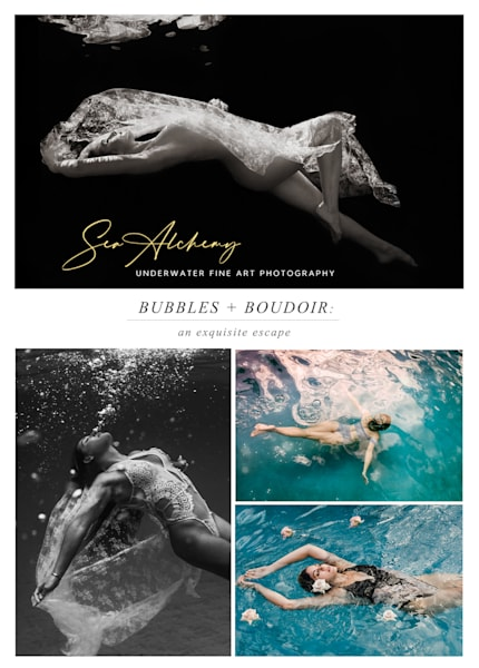 Bubbles + Boudoir Package