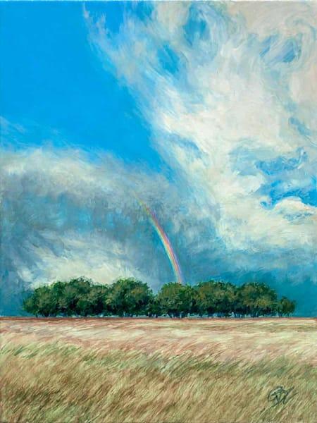 Rainbow Illusion Art | Rebecca Zook Creative Studio