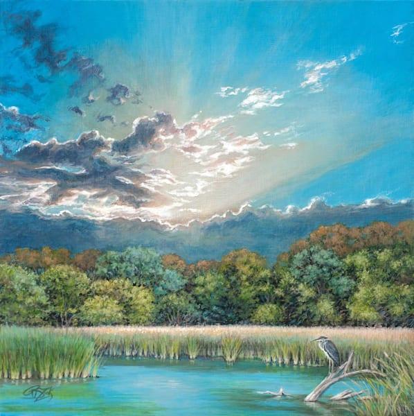 The Wondrous Wandering Waterways Of The Waco Wetlands Art | Rebecca Zook Creative Studio