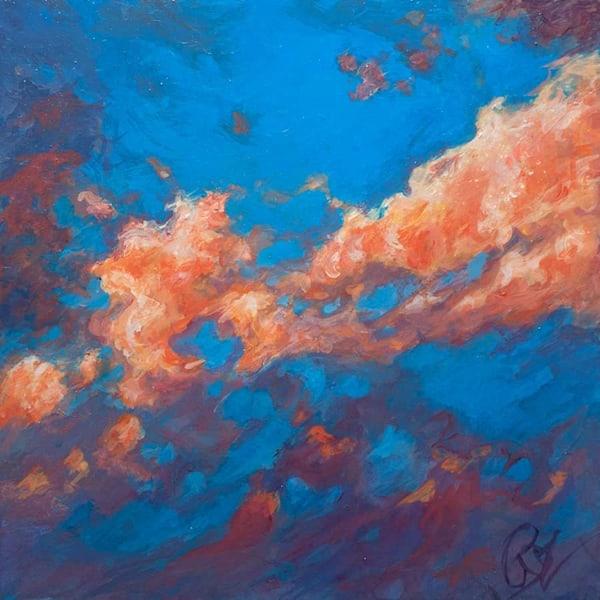 Cloud Study I Art | Rebecca Zook Creative Studio