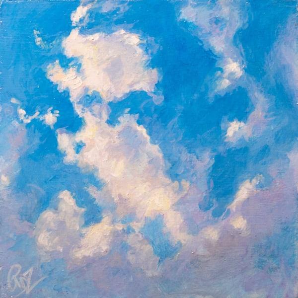 Cloud Study Ii Art | Rebecca Zook Creative Studio