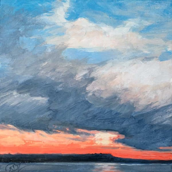 Cloud Study Iii Art | Rebecca Zook Creative Studio
