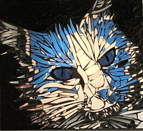 Sharp Art Kelowna Blue-Eyed Cat