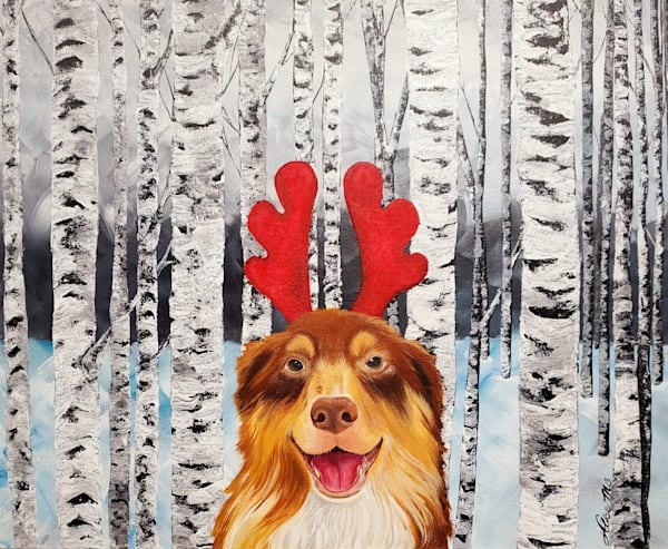 Aussie Reindeer Art | Alice MC