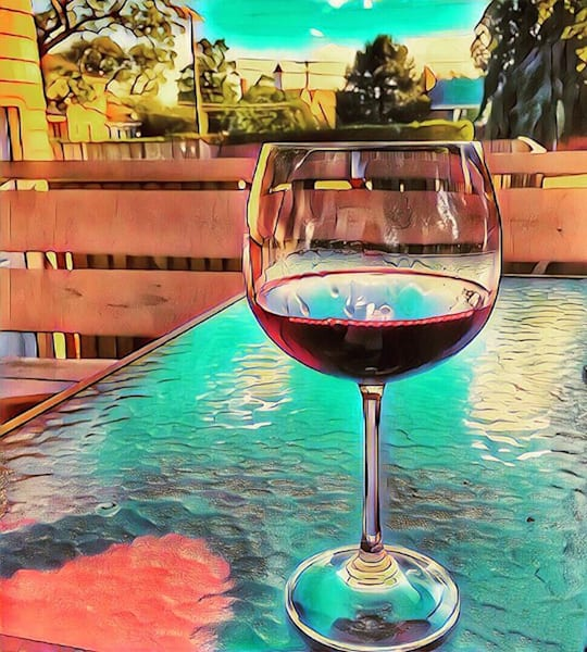 Summer Wine Photography Art | Cynthia Cincotti Art