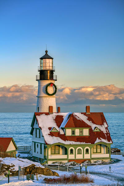 Winter Afternoon at Portland Head Light | Shop Photography by Rick Berk