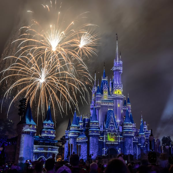 Minnie's Wonderful Christmastime Fireworks 6 Photography Art | William Drew Photography