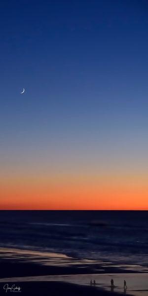 Moon Over Sunset Surf