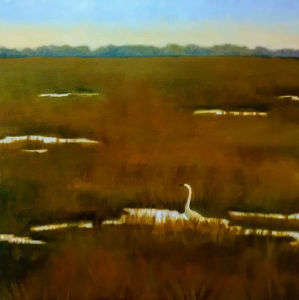 Morning Silence   Original Oil  Art   Sharon Guy