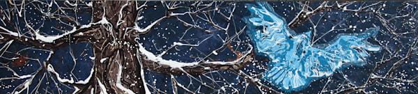 Ascending In Winter Art | buchanart