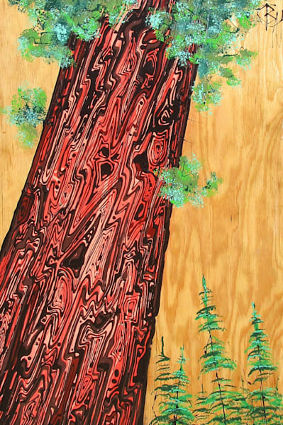 Mother Sequoia Natural  Art | buchanart