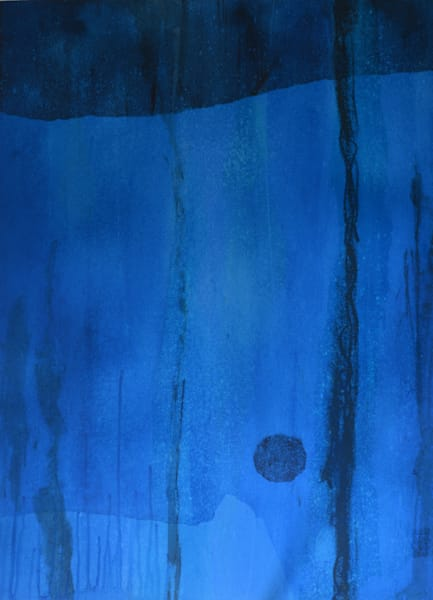 Calm painting from Mark WItzling series titled Serenity.