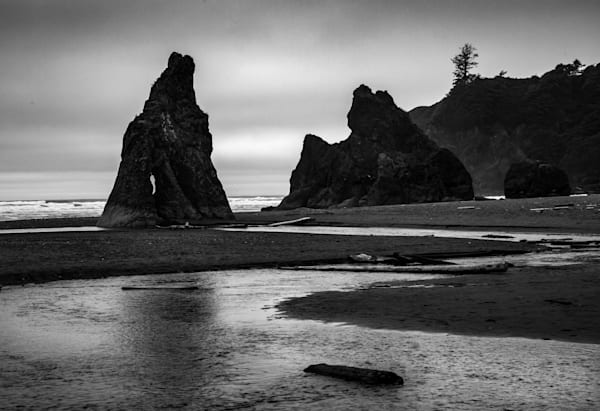 """Creek To Second Beach   20"""" X 14 Limited Edition Of 20, Signed & Numbered Photography Art 