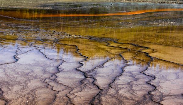 """Geyser's Edge  20"""" X 12"""" Limited Edition Of 20, Signed & Numbered Photography Art 