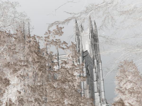 Duke Chapel Infrared