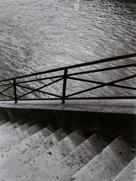 Steps To The Seine, Paris Photography Art | Ben Asen Photography