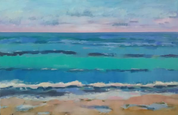 Ocean Abstracted Art | Sharon Guy
