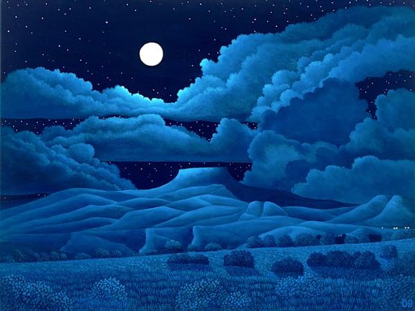 Pedernal Moonlight Art | Fine Art New Mexico