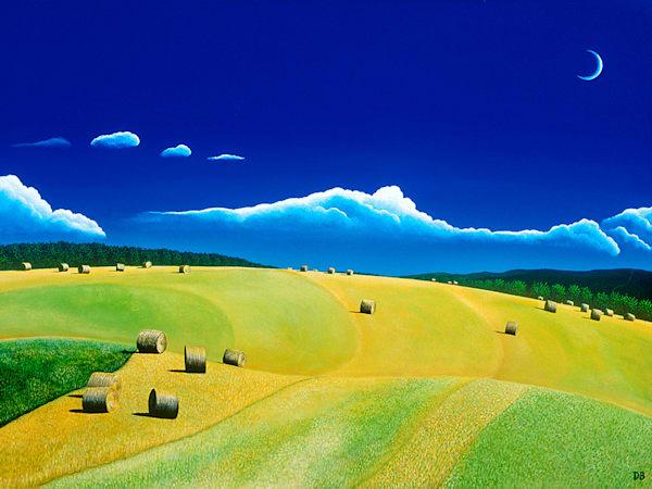 Leyden Hayfield Art | Fine Art New Mexico