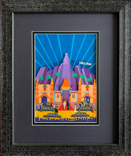 "Hooray For Hollywood, Framed Art | C.A.S.H. Art ""all things artistic"""