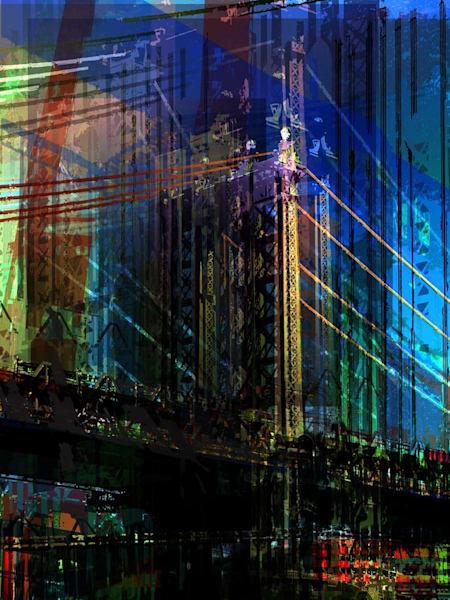 Manhattan Bridge Art | Paper & Ink Artists