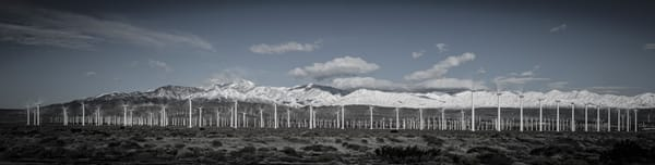 Dec 2019 Turbine Pano 2 Bw Photography Art | Foretography