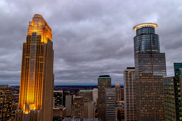 Wells Fargo and Capella Towers - Photos of Minneapolis Minnesota