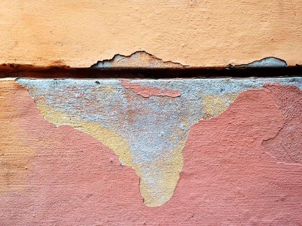 PEELING INDIA - Abstract Photography Print for Sale | Michael Haggiag Photographic Artist.