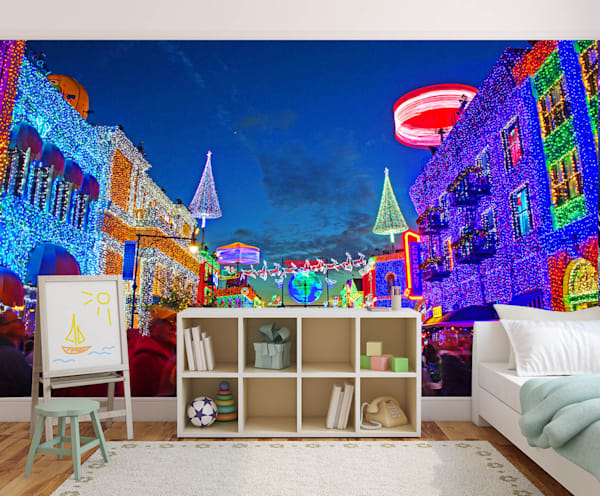 Osborne Family Lights - Disney Wall Murals | William Drew