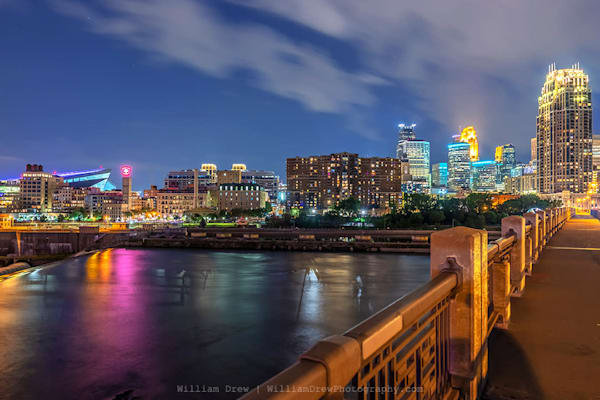 Minneapolis East from the 3rd Ave S Bridge - Minneapolis Wallpaper