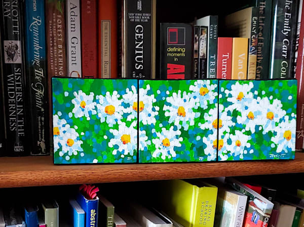 Joyful Daisies Art | Jim Pescott Art