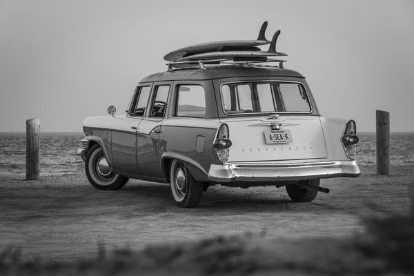 1964 Studebaker & Vintage Surfboards #1 Photography Art | Kit Noble Photography
