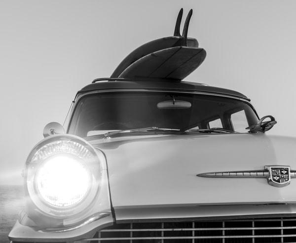 1964 Studebaker & Vintage Surfboards #2 Photography Art | Kit Noble Photography