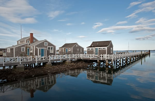 Wharf Cottages  Photography Art | Kit Noble Photography